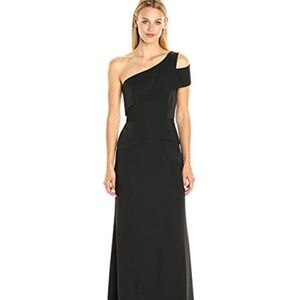 BCBGMAXAZRIA  Annely Woven Evening Dress Sz 8